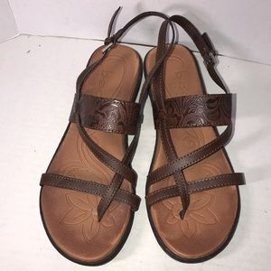 Nice Leather Born Sandals size 9